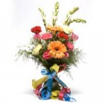 send 12 mix flower bunch delivery