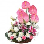 send special mix flower bouquet delivery