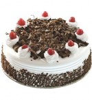 send 1 kg eggless black forest cake delivery