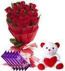 send  beautiful combo gifts one delivery