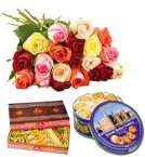 send flowers sweets combo-one delivery