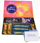 send Cadburys Celebrations Pack with Card delivery