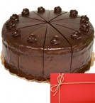 send yummy chocolate truffles eggless 500gms with small greeting card delivery