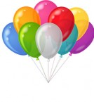 send 9 Air Filled Balloons  delivery
