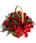 send 30 Red Roses Basket delivery