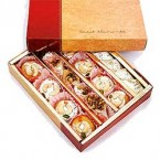 send gift box of 1kg Assorted Kaju Sweets delivery