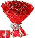 send 30 Red Roses Bouquet  delivery