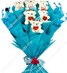 send Teddy Bouquet delivery