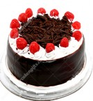 send Black Forest With Cherry Eggless Cake delivery