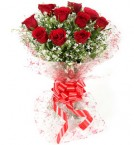 send Bunch Of Red Floral Greetings delivery