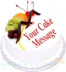 send fresh fruits cake 500 gms delivery