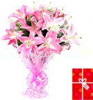 send lovely Lilies delivery