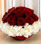 send Roses And Carnations Flower delivery
