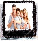 send 1 Kg Chocolate Personalized Photo Cake delivery