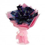 send Dairy Milk Chocolate Bouquet delivery