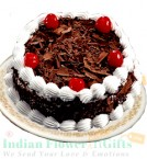 send  500 gms black forest cake delivery