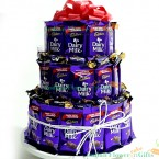 send multi layer Layer Chocolaty Wishes delivery