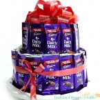 send dairy milk chocolate bouquet arrangement delivery