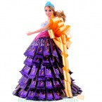 send Beautiful barbie doll dairy milk chocolate bouquet delivery
