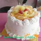 send eggless half kg fruit cool cake delivery