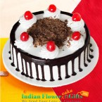 send Half Kg Black Forest Cake Round Shape  delivery