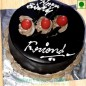 1Kg Eggless Chocolate Truffle Special Cake