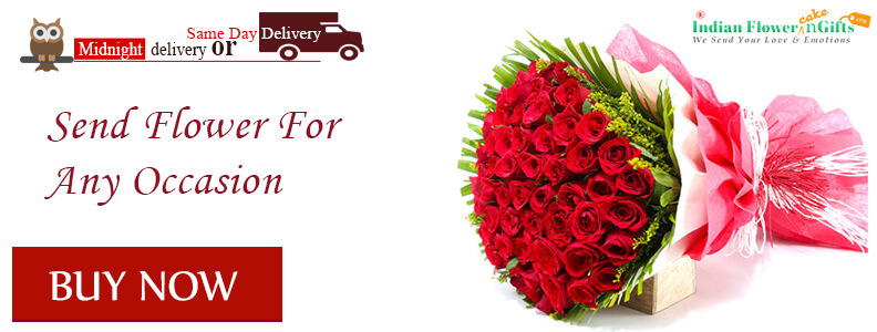 BIrthday flower midnight delivery india