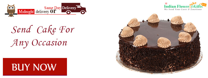 Yummy Chocolate Cake  delivery in india Buy Now