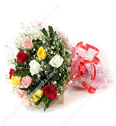 Bunch Of Mix Floral Greetings