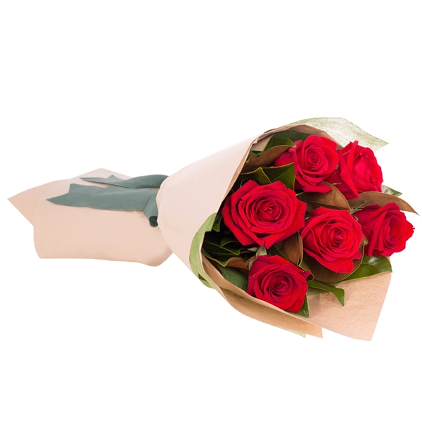 Long Stemmed Rose Bouquet Red 6