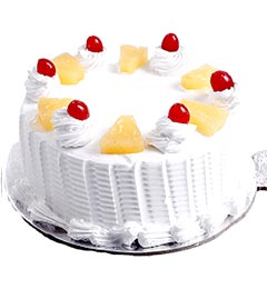 500gms Eggless Pineapple Cake