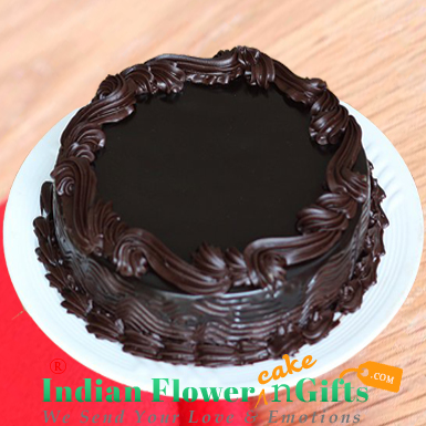 Chocolate Truffle Eggless cake