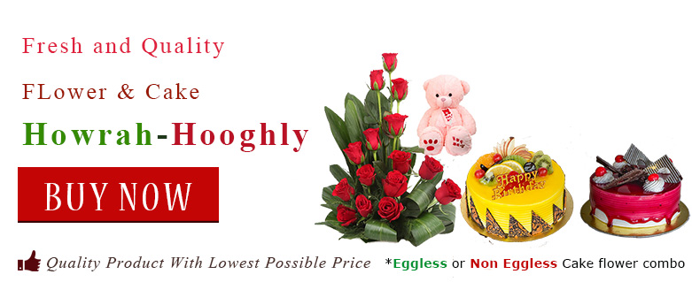 1Online Gift Flower Cake Delivery Shop In Howrah Hooghly Order
