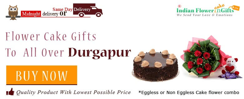 Send Cakes Flowers Durgapur