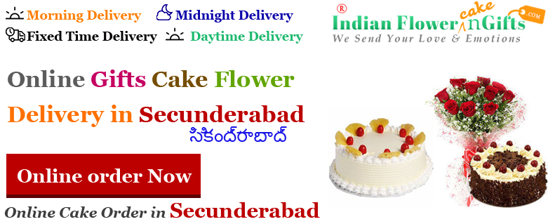Send Cakes Flowers Secunderabad